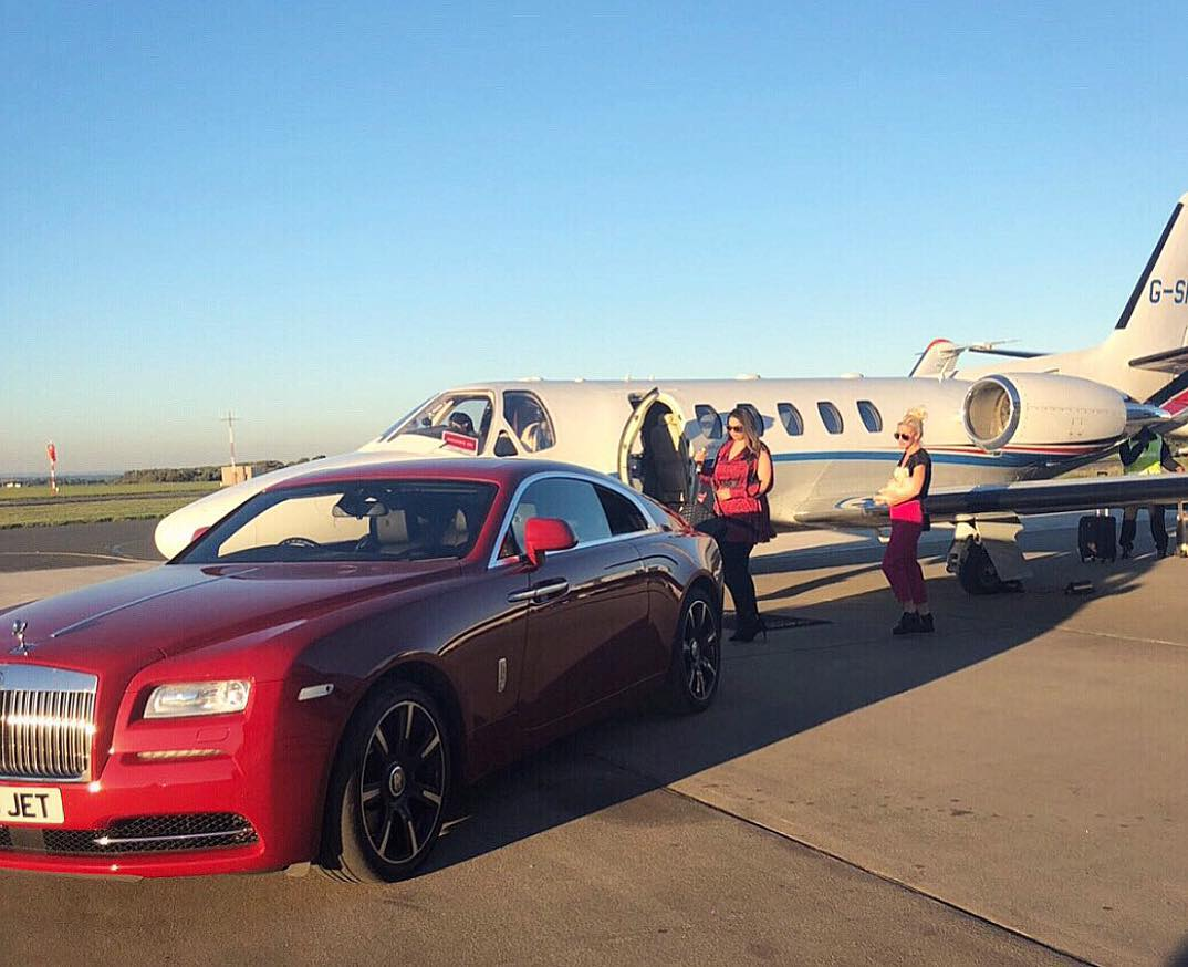 private jets rental middle east